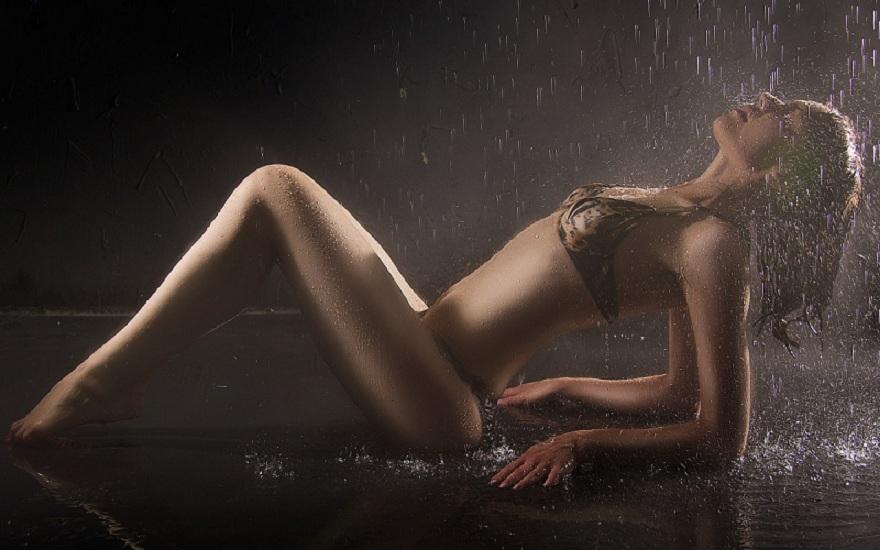 modèle photo en sous-vêtements
